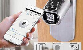 Solo hoy! cerradura electrónica We.Lock, apertura por huella digital, app o tarjeta por 129€ antes 189€.