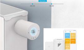 Válvula termostática wi-fi inteligente Meross, compatible con Alexa, Google Assistant y iFTTT, pantalla LCD y app por 32,99€, antes 53,99€.