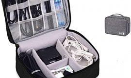 Bolsa para guardar accesorios electrónicos por 13,99€.