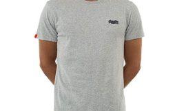 Superdry Label Vntge, camiseta para hombre de manga corta por 11,99€. Antes 24,99€.