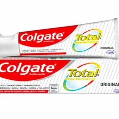Pasta de dientes Colgate Total Original (75ml) por sólo 1,70€.
