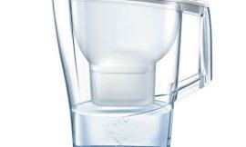 Jarra purificadora de agua Brita Aluna con 1 Filtro Maxtra y capacidad de 2,4 litros por 11,96€.