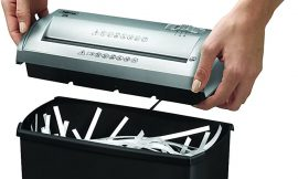 Máquina trituradora de papel de Fellowes Trito 2S por 19,90€.