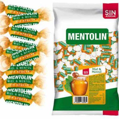 1 Kilo de caramelos balsámicos Mentolín con miel & mentol sin azúcar por sólo 8,87€.