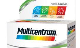 Pack de 90 comprimidos Multicentrum Vitamínico por 14,40€.