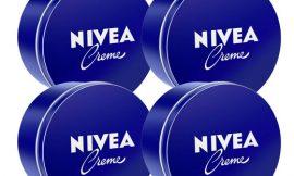 4 tarros de crema hidratante Nivea Creme (4x400ml) por 15,96€.