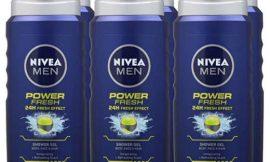 6 Botellas de gel de ducha Nivea Power Fresh (6x400ml) por sólo 11,29€.