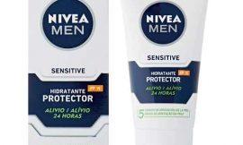 Crema hidratante y protectora Nivea Men Sensitive con protección solar FP15 por sólo 6,05€.