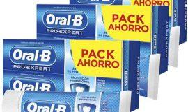 6 Envases de dentífrico Oral-B Pro-Expert protección profesional (6x75ml) por sólo 9,00€ .