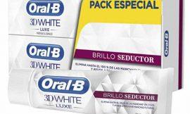 2 Tubos de pasta de dientes Oral-B 3D White Luxe (2x75ml) por sólo 4,21€.