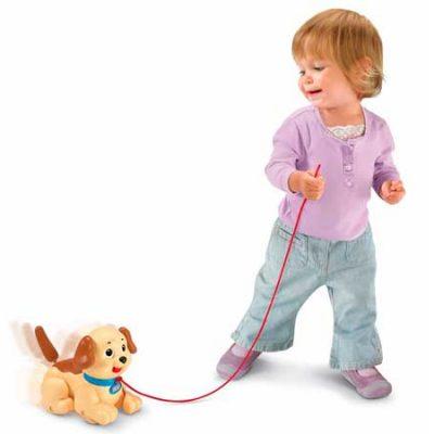 Pequeño Snoopy de Fisher Price el primer cachorro para tu bebé por 8,40€.
