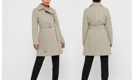 Abrigo de mujer Only Onlolivia Long Biker Wool Coat por 46,49€ antes 70€.