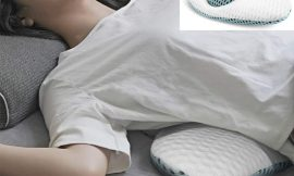 Cojín con diseño semicircular 3D extendido para soporte lumbar, regulable en altura por 11,60€ antes 28,99€.