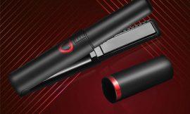 Plancha portátil alisadora/rizadora para cabello, 3 temperaturas, batería 4800mAh por 32,49€ antes 49,99€.