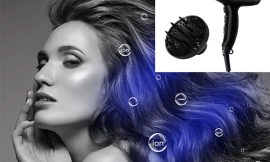 Secador de pelo iónico Kipozi, 1800W, boquillas concentradora y un difusor por 14,80€ antes 22,02€.