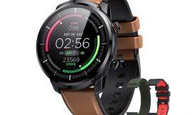 Smartwatch Hommie L3, pantalla táctil IPS, GPS integrado, 9 modos deportivos, presión arterial, ritmo cardíaco, 360mAh, IP68 por 35,99€ antes 69,99€.