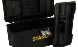 Caja de herramientas Stanley STST1-75518 con cierre metálico y bandeja extraíble por sólo 8,79€.