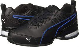 Zapatillas de piel Puma Leader negras por 25,46€. 50% de descuento y blancas por 7 euros más