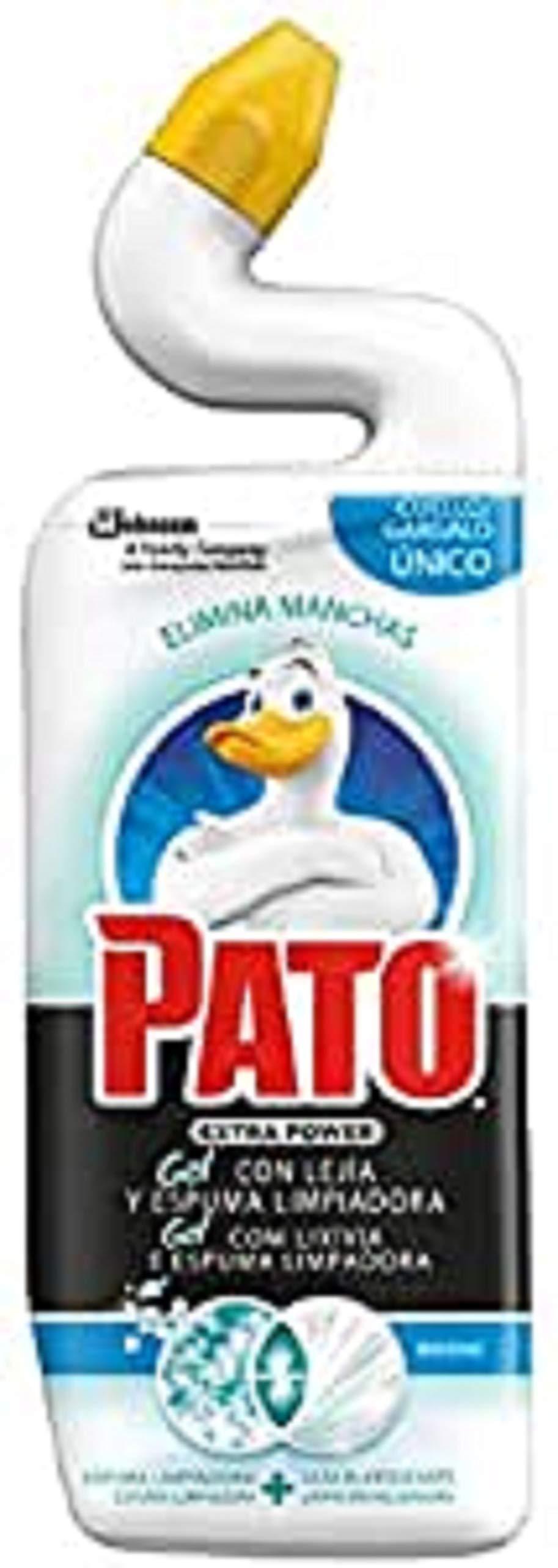 Scent Pato - WC Power Marine Bleach, quitamanchas de inodoro, 750 ml [Todos los aromas]