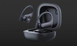 Auriculares deportivos TWS Aukey EP-T32 , BT 5.0, con micros CVC 8.0, AptX y AAC, sensores de proximidad, IPX8, estuche compatible con carga Qi por 27,99€ antes 39,99€.
