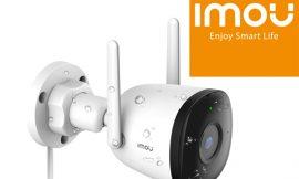 Cámara de vigilancia Wifi exterior, 1080P, visión nocturna, IP67, detección humana IA, compatible con Alexa por 31,99€.