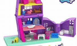Casa de muñecas Polly Pocket con muñeca y accesorios por sólo 12,48€ antes 24,99€.