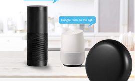 Control remoto inteligente para aparatos IR compatible con Alexa y Google Home e IFTTT por 9,59€.