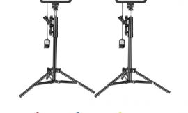 Kit de antorchas con trípode para iluminación, 3200K/5600K, control remoto, filtros de color por 51,99€ antes 79,99€.