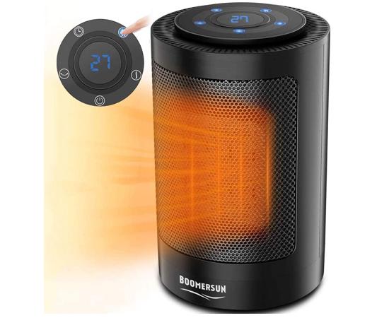 En este momento estás viendo Mini calefactor cerámico Boomersun, termostato regulable 750/1500W por 13,99€ antes 27,99€.