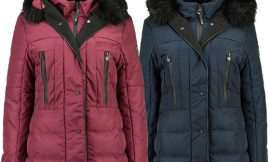 Parka Geographical Norway burdeos para mujer por 49,90€.