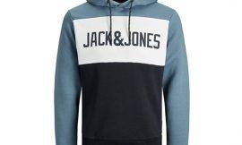 Sudadera Jack & Jones Logo Blocking por 22,99€.