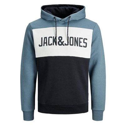 Sudadera Jack & Jones Logo Blocking por 22,99€.