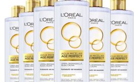 6 Botellas de Agua micelar L'Oréal Paris Age Perfect (6x400ml) por sólo 12,33€.