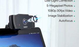 Webcam Aukey PC-LM4, 1080p, Auto-enfoque/manual, dos micros con reducción de ruidos por 34,99€ antes 49,99€.
