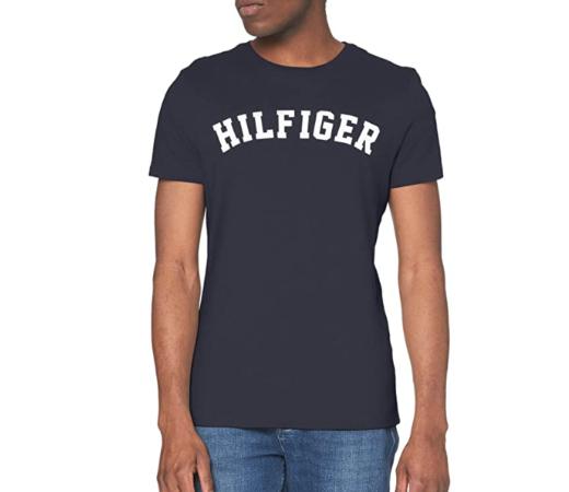 Camiseta de manga corta Tommy Hilfiger Logo por sólo 17,45€.