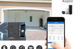 Abridor de puertas de garaje wifi inteligente compatible con Alexa/ Echo, Google Home IFTTT por 7,99€.