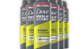 6 Desodorantes Dove Men+Care Sport Active Fresh (6x150ml) por sólo 9,81€.