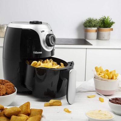 Freidora sin aceite Tristar Crispy Fryer 2 litros, 1000W por 35,99€.
