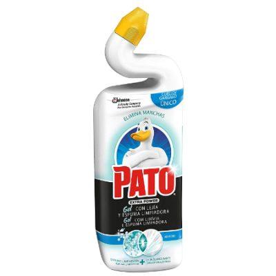 Compra 2 y llévate uno a mitad de precio! Limpiador para inodoros Pato WC con lejía y espuma activa por sólo 3,22€.