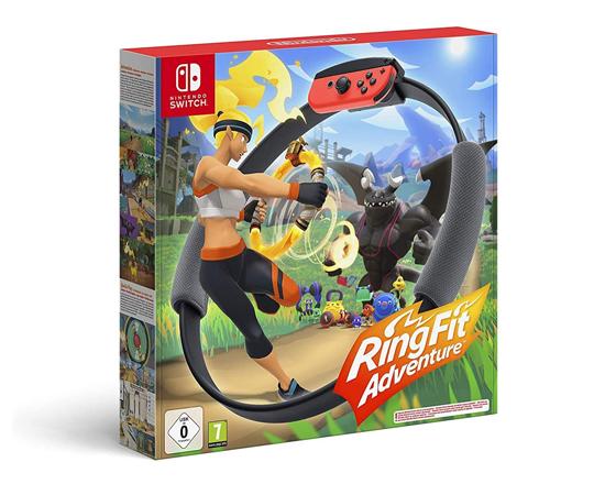 Ring Fit Adventure para Nintendo Switch por 69,95€.