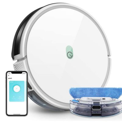 Robot aspirador y fregasuelos Wifi Yeedi K650, 2000Pa, compatible con Alexa por 139,99€ antes 199,99€.