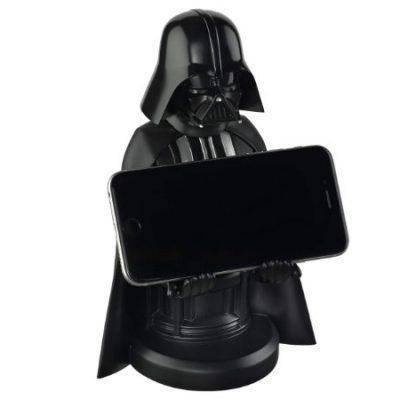 Soporte de sujeción y carga Darth Vader para teléfonos móviles y mandos de consolas por sólo 14,95€ antes 24,99€.